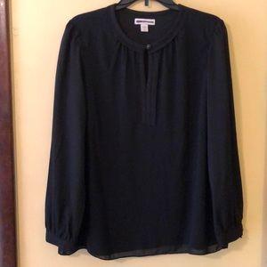 Dressy women's long sleeve blouse